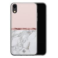 Casimoda iPhone XR siliconen telefoonhoesje - Rose all day