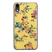 Casimoda iPhone XR siliconen hoesje - Floral days