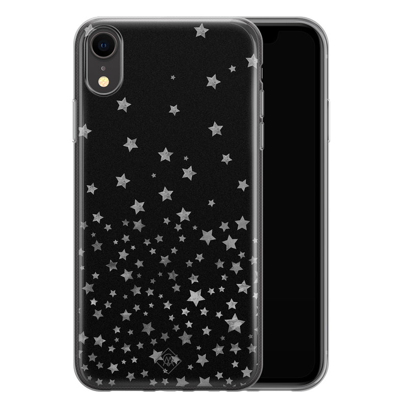 Casimoda iPhone XR siliconen hoesje - Falling stars