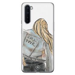 Casimoda OnePlus Nord siliconen hoesje - GRL PWR
