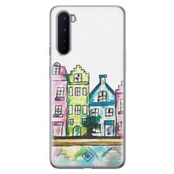 Casimoda OnePlus Nord siliconen hoesje - Amsterdam