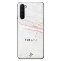 Casimoda OnePlus Nord siliconen telefoonhoesje - C'est la vie