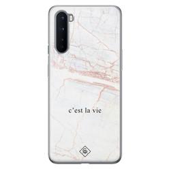 Casimoda OnePlus Nord siliconen hoesje - C'est la vie