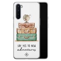 Casimoda OnePlus Nord siliconen hoesje - Wanderlust