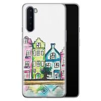 Casimoda OnePlus Nord siliconen telefoonhoesje - Amsterdam