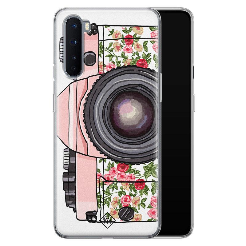 Casimoda OnePlus Nord siliconen telefoonhoesje - Hippie camera