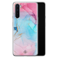 Casimoda OnePlus Nord siliconen hoesje - Marble colorbomb