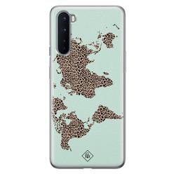 Casimoda OnePlus Nord siliconen hoesje - Wild world
