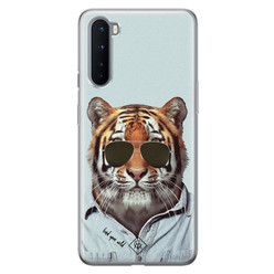 Casimoda OnePlus Nord siliconen hoesje - Tijger wild