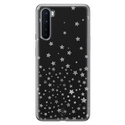 Casimoda OnePlus Nord siliconen hoesje - Falling stars