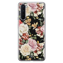 Casimoda OnePlus Nord siliconen hoesje - Flowerpower