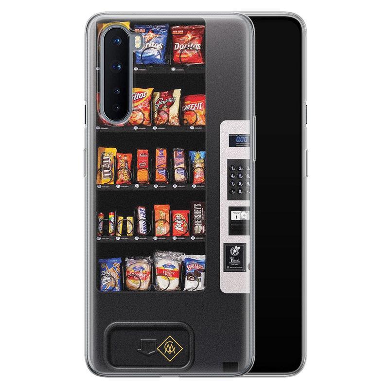 Casimoda OnePlus Nord siliconen hoesje - Snoepautomaat