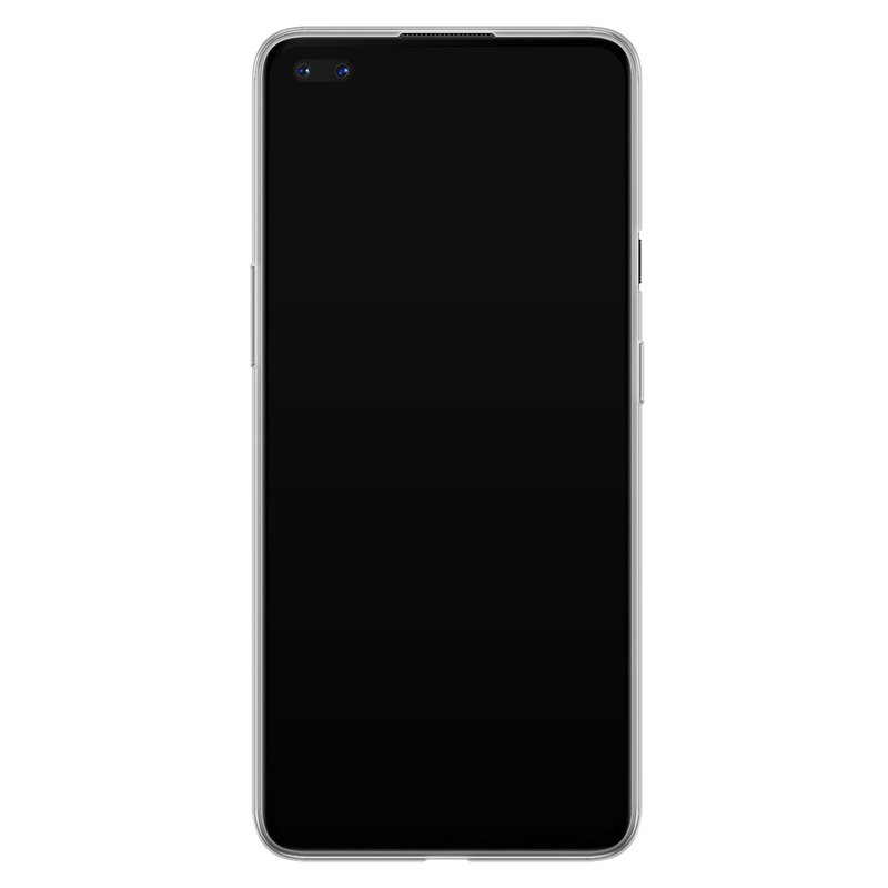Casimoda OnePlus Nord siliconen hoesje - Marmer blauw