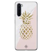 Casimoda OnePlus Nord siliconen hoesje - Ananas