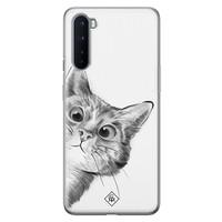 Casimoda OnePlus Nord siliconen hoesje - Peekaboo