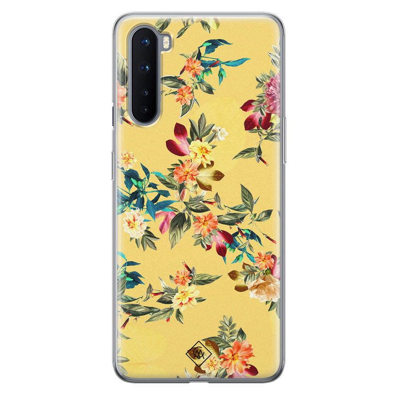Casimoda OnePlus Nord siliconen hoesje - Floral days