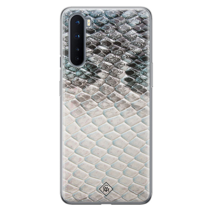 Casimoda OnePlus Nord siliconen hoesje - Oh my snake