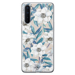 Casimoda OnePlus Nord siliconen hoesje - Touch of flowers