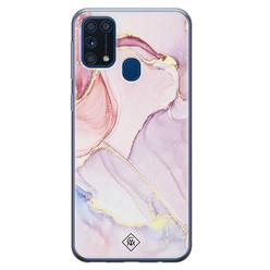 Casimoda Samsung Galaxy M31 siliconen hoesje - Purple sky