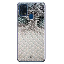 Casimoda Samsung Galaxy M31 siliconen hoesje - Oh my snake