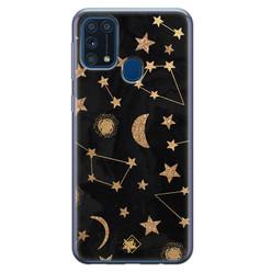 Casimoda Samsung Galaxy M31 siliconen hoesje - Counting the stars