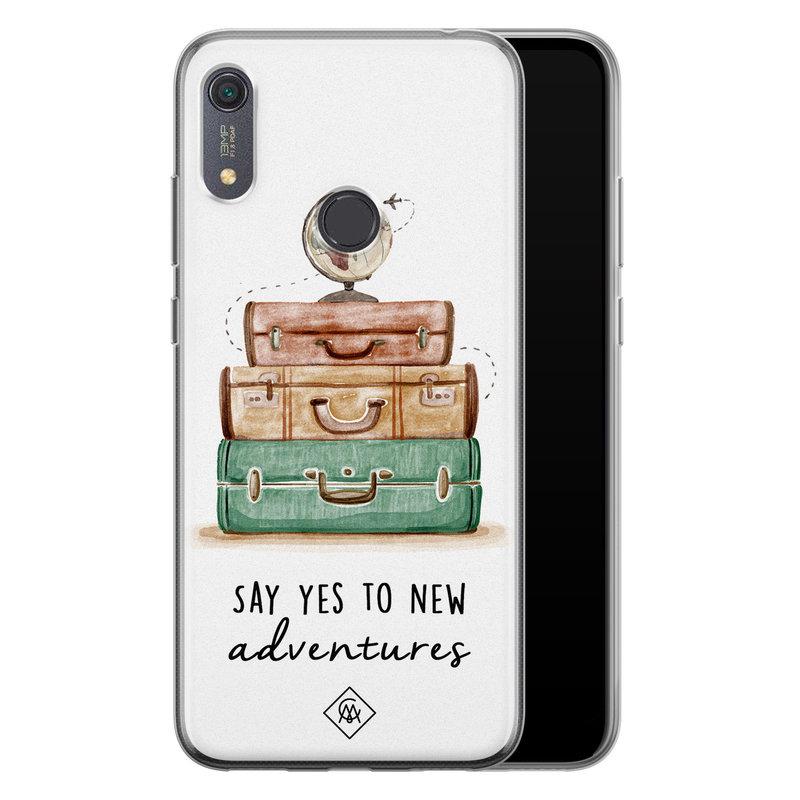 Casimoda Huawei Y6 (2019) siliconen hoesje - Wanderlust