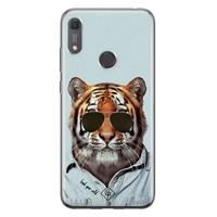 Casimoda Huawei Y6 (2019) siliconen hoesje - Tijger wild