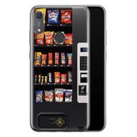 Casimoda Huawei Y6 (2019) siliconen hoesje - Snoepautomaat