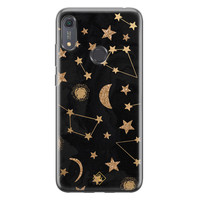 Casimoda Huawei Y6 (2019) siliconen hoesje - Counting the stars