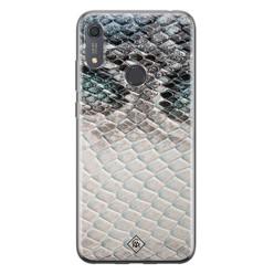 Casimoda Huawei Y6 (2019) siliconen hoesje - Oh my snake