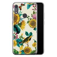 Casimoda Huawei Y6 (2019) siliconen hoesje - Sunflowers