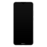 Casimoda Huawei Y6 (2019) siliconen hoesje - Luipaard marmer mint