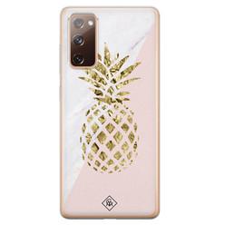 Casimoda Samsung Galaxy S20 FE siliconen hoesje - Ananas