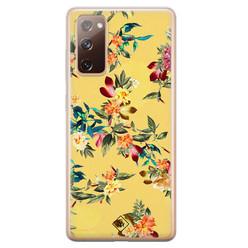 Casimoda Samsung Galaxy S20 FE siliconen hoesje - Floral days