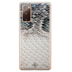 Casimoda Samsung Galaxy S20 FE siliconen hoesje - Oh my snake
