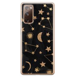 Casimoda Samsung Galaxy S20 FE siliconen hoesje - Counting the stars