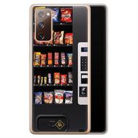 Casimoda Samsung Galaxy S20 FE siliconen hoesje - Snoepautomaat
