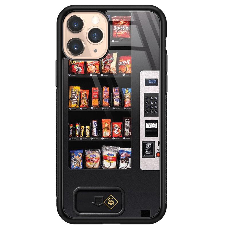Casimoda iPhone 11 Pro glazen hardcase - Snoepautomaat