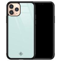 Casimoda iPhone 11 Pro glazen hardcase - Pastel blauw