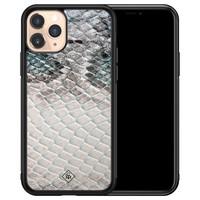 Casimoda iPhone 11 Pro glazen hardcase - Oh my snake