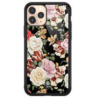 Casimoda iPhone 11 Pro glazen hardcase - Flowerpower