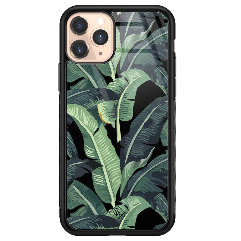 Casimoda iPhone 11 Pro glazen hardcase - Bali vibe