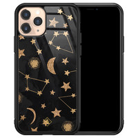 Casimoda iPhone 11 Pro glazen hardcase - Counting the stars