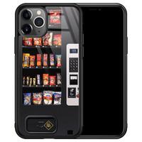 Casimoda iPhone 11 Pro Max glazen hardcase - Snoepautomaat