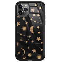 Casimoda iPhone 11 Pro Max glazen hardcase - Counting the stars