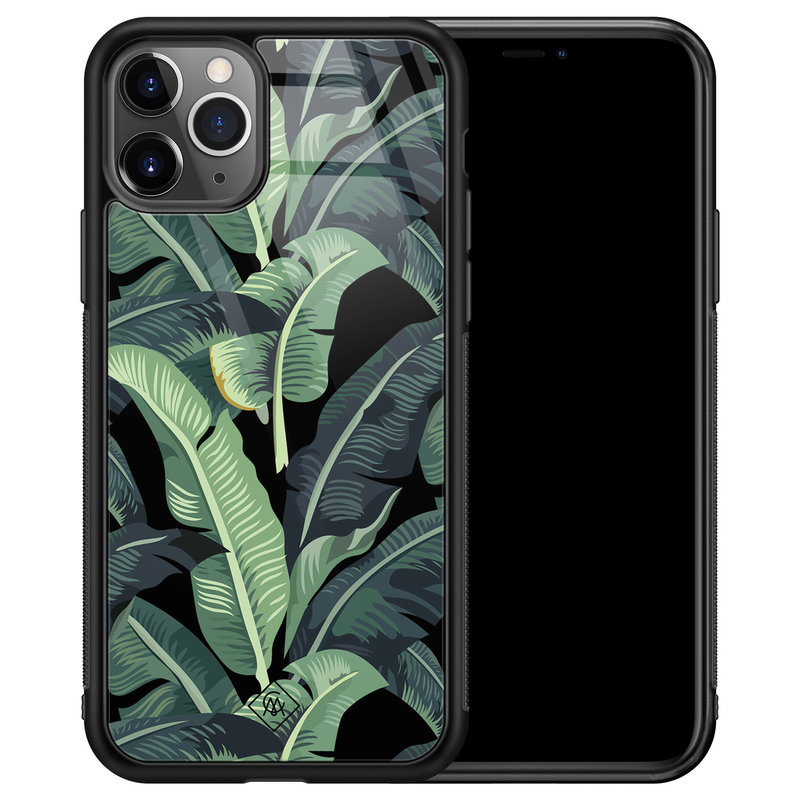 Casimoda iPhone 11 Pro Max glazen hardcase - Bali vibe