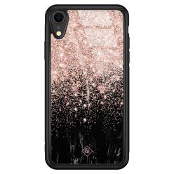 Casimoda iPhone XR glazen hardcase - Marmer twist