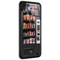 Casimoda iPhone XR glazen hardcase - Snoepautomaat