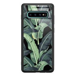 Casimoda Samsung Galaxy S10 Plus glazen hardcase - Bali vibe