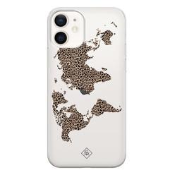 Casimoda iPhone 12 transparant hoesje - Wild world